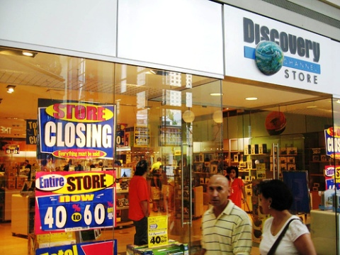 Discovery Stores Close