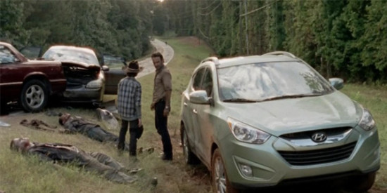 "TV shows like ""The Walking Dead"" want views to see the Hyundai brand"