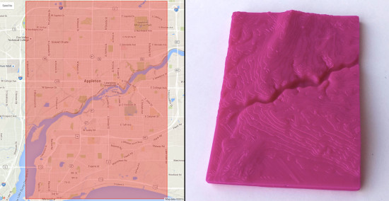 3D Model of Appleton WI