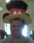 Silly Hat at Disney