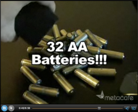 6 volt battery hack