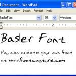 BaslerFont