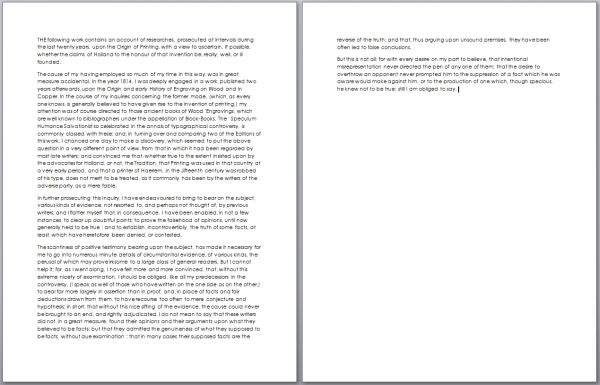 two page essay