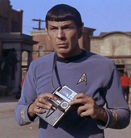 tricorder spock